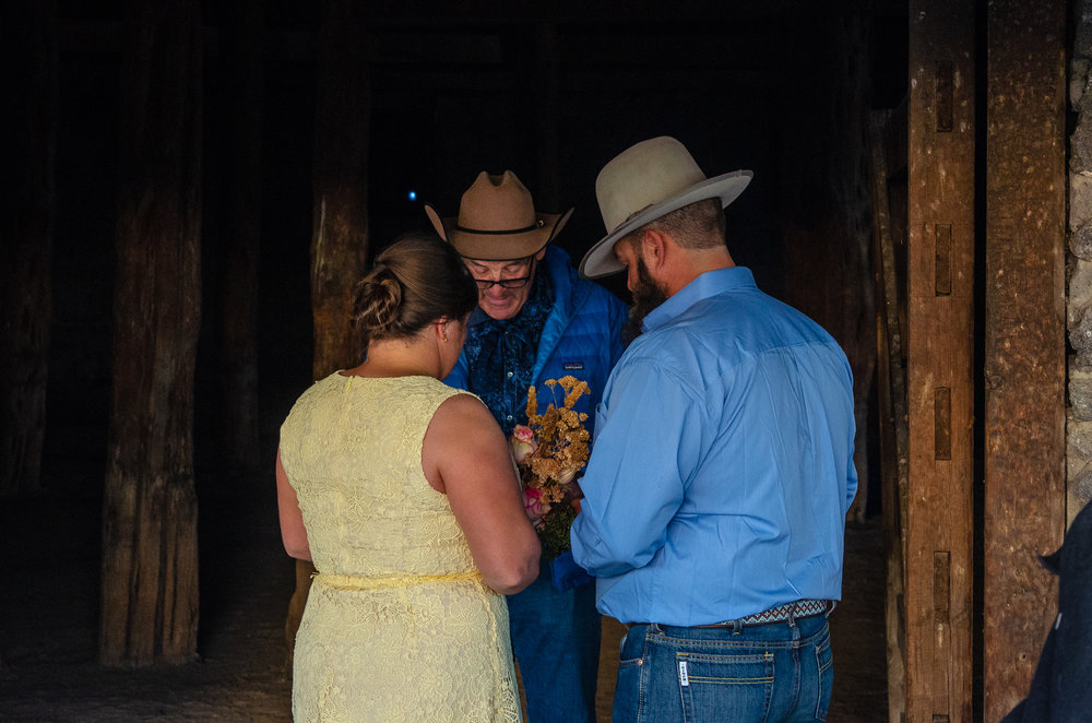 Everyone knew each other, even the officiant! He is their uncle and it was special to see the bond they all shared.