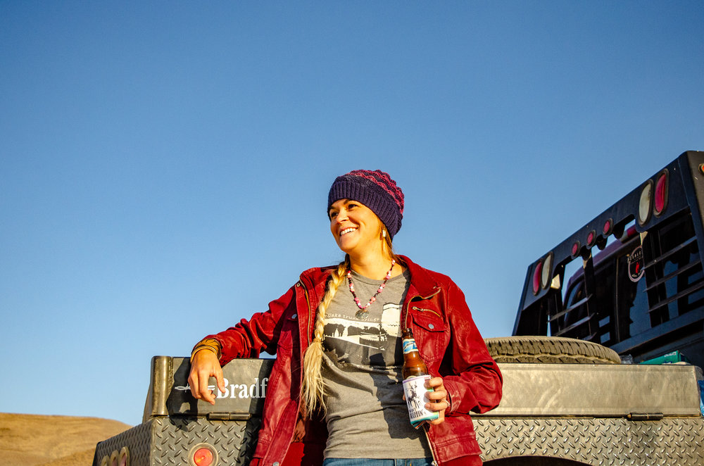 What is fall without a beer and a flat bed?