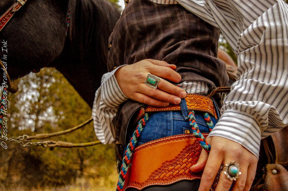 Branded in Ink, Jessica Hedges, Teal Ranch Leather, Melinda Horn, Randi Johnson, Desert Wind Boutique
