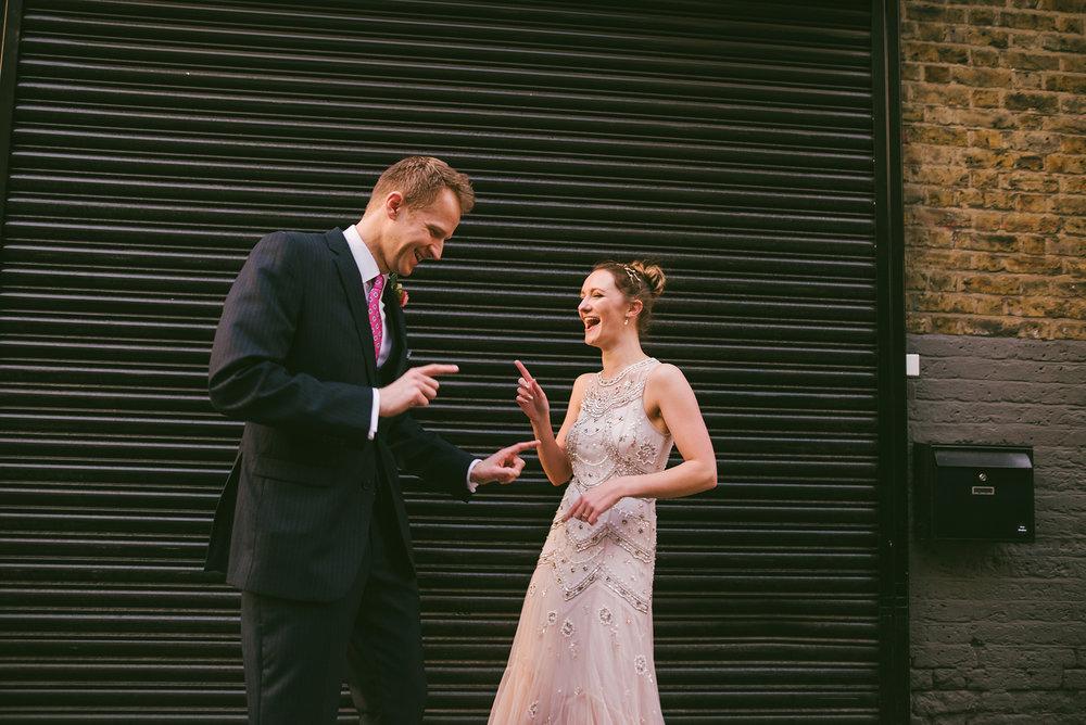 East London Warehouse Wedding - October 2017
