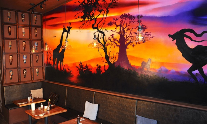 Nativ's African inspired wall murals