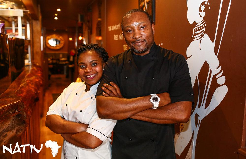 Prince Ogbuji - With his wife Nneka Dorothy OgbujiFounders of Nativ Cuisine