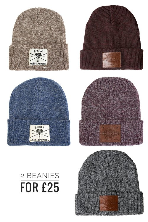 f0afb926989 2 Beanies For £25 Combo — Ages Apparel