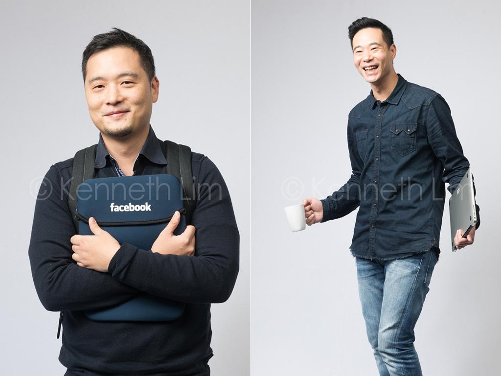 corporate-headshot-Facebook-Hong-Kong-Chinese-guy-holding-computer-bag-Facebook-logo-guy-holding-laptop-coffee-mug