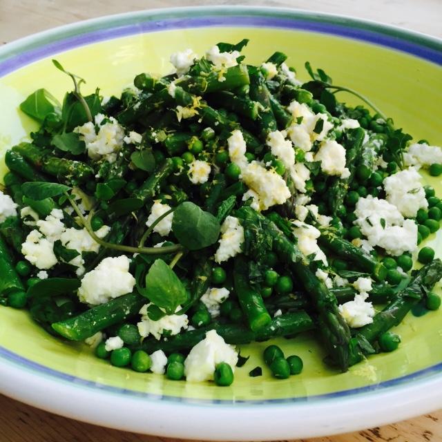 Asparagus and Pea salad.JPG