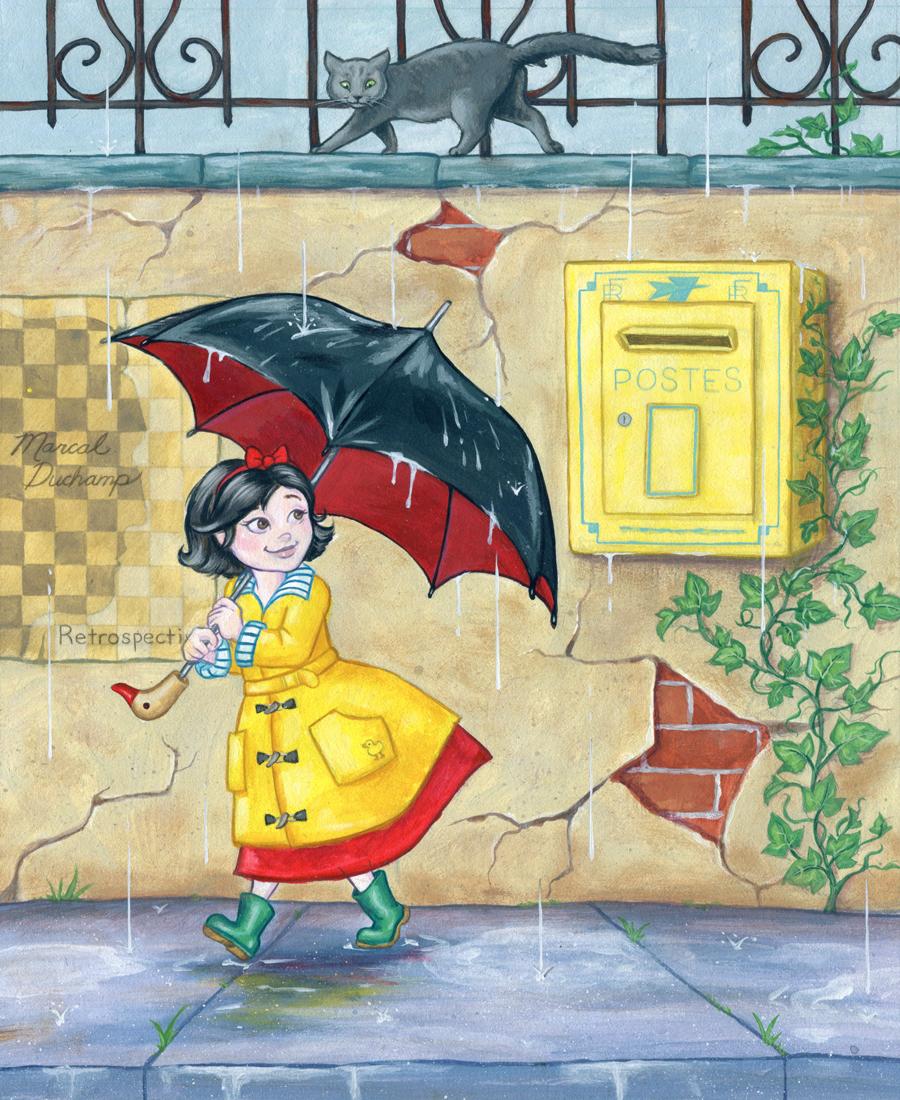 Mona's Rainy Day