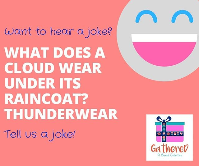 There's no sound BETTER than laughter,  CHILDREN'S is our favourite!  We love jokes, let's get the week started with a good kid inspired JOKE! Show us what you got! Be silly, 😋 be creative, be yourself. Get your joke on. Tag us #Gatheredboxedcollection . . . . #subscriptionboxes #subscriptionbox #YEG #yegbiz #yegwomen #jokes #yegentrepreneur #Edmontonmade #edmontonbusiness