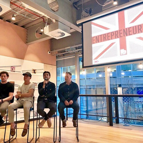 Great @virginstartup panel @wework at the office the other week, with @candykittens @jamielaing @edward_williams @blackmilkcereal, talking about building their businesses. Every talk should come with free candy!🍬