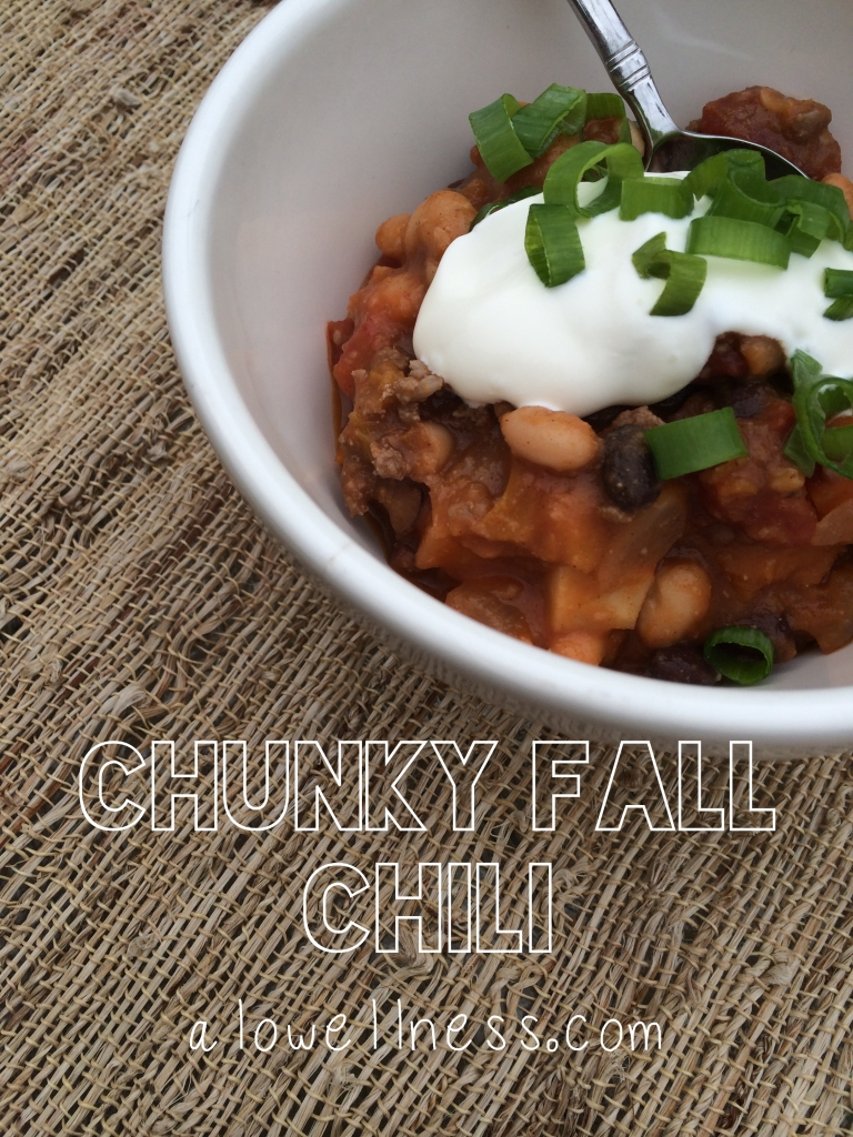 Chunky Fall Chili