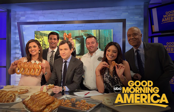 Philly Pretzel Factory on GMA