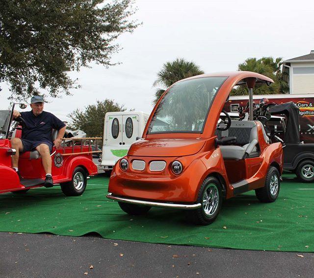 She's magnetic. @streetrodgolfcars @luxgolfcars  #design #luxury #golf #golfcar #golfcart
