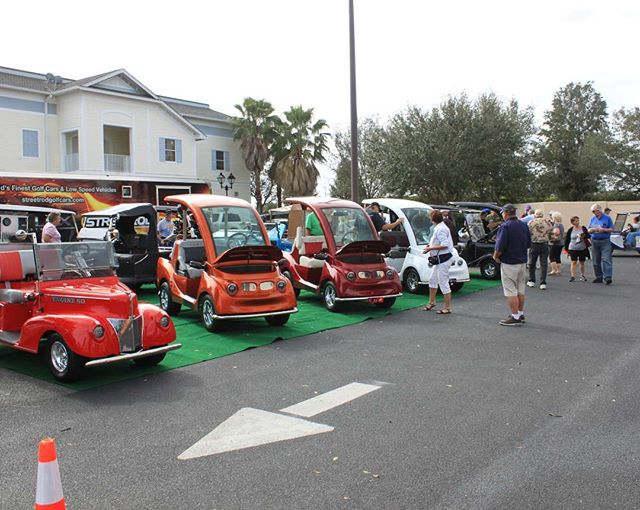 Stop by Village Streetrod in The Villages Florida to see the LUX in person! @streetrodgolfcars