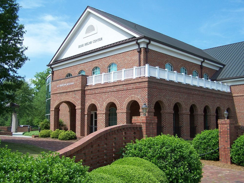 The Jesse Helms Center is located in Wingate, North Carolina.