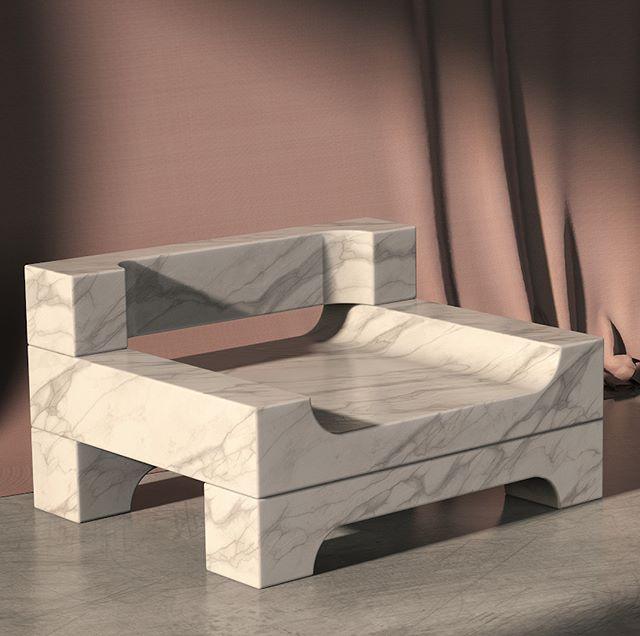 For this weeks @renderweekly here's a rendering of one of my favorite chairs by @nickpbaker. The geometry was pretty simple but that's what makes it so elegant. . . . . #renderweekly #industrialdesign #design #chair #render #cg #keyshot #marvelousdesigner #rendering #3d #3drender #cgartist #art #solidworks