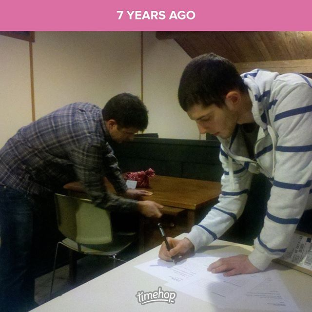 This #tbt is a special one, folks! 7 years ago today, we signed our office space lease with the @greengarage! It's still our home base and we love being part of such an amazing community 💚