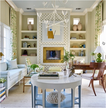 Design by  Amy Berry  for the Dallas Traditional Home showhouse.