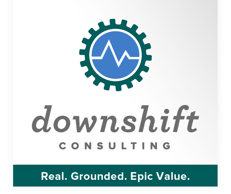 Downshift Consulting | Real. Grounded. Epic Value.