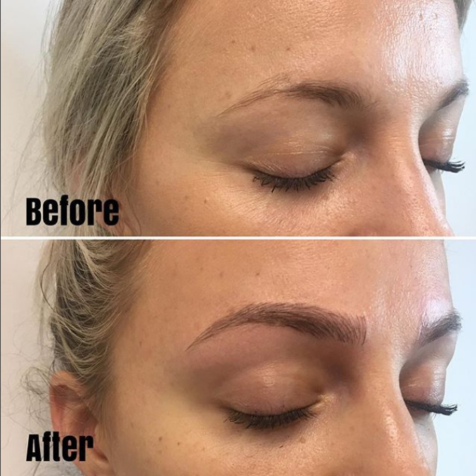 Photo from @microblading_screaminpeach