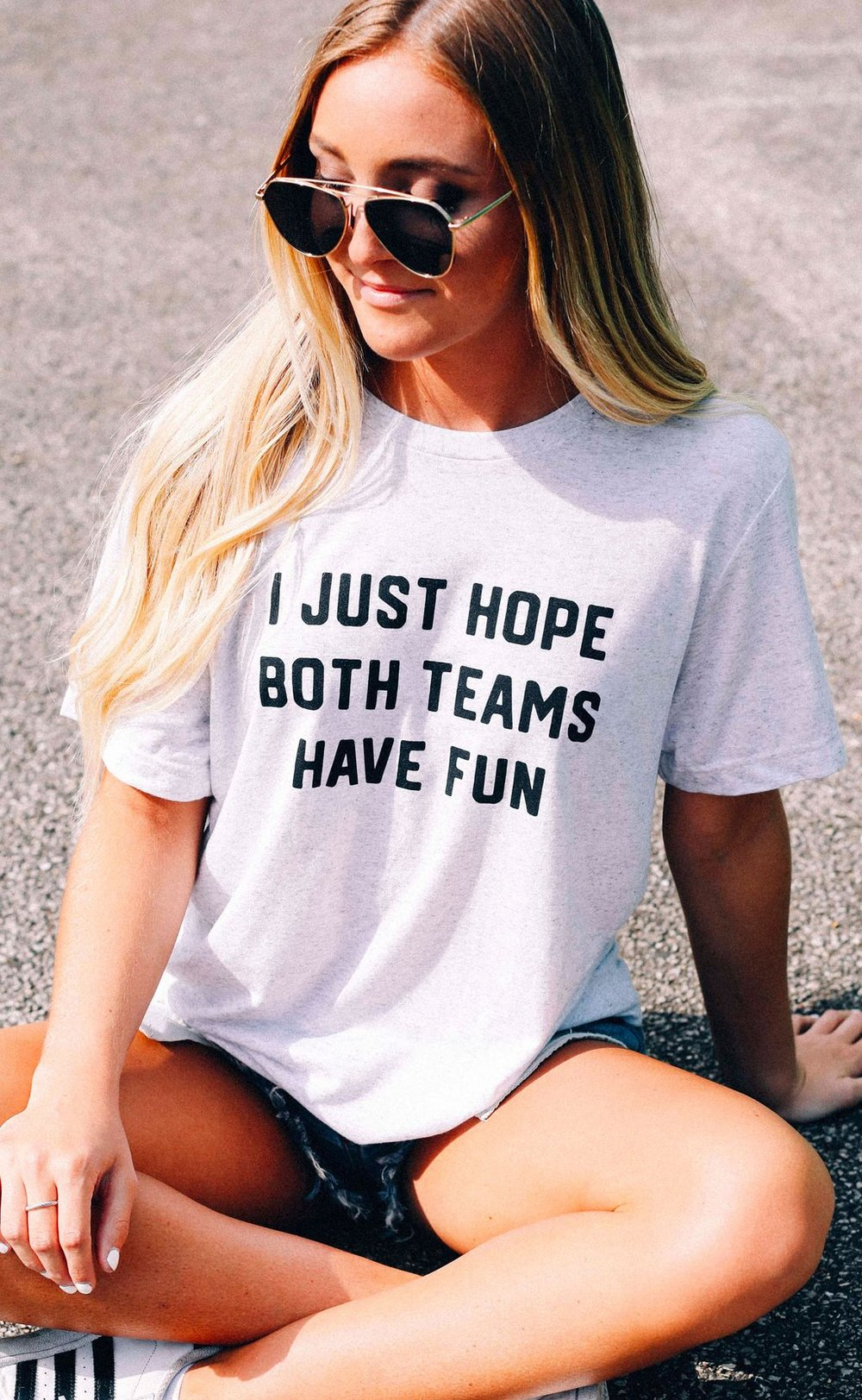 "Being dragged to the game? Lol. This is for you. They have a few others including a ""YAY SPORTS"" T Shirt that actually made me LOL. But if this is the case we probably don't relate to each other, or why are you reading this."