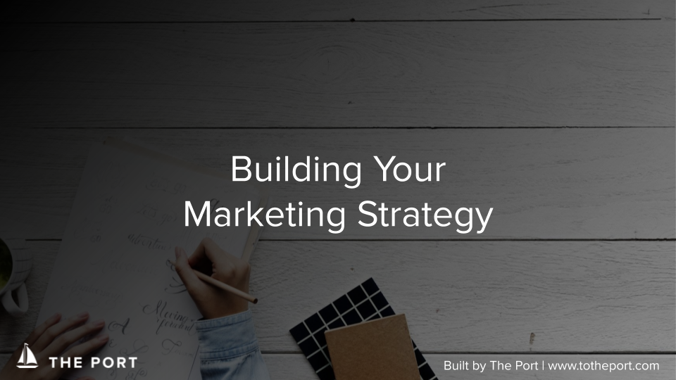 Marketing Strategy Workbook - Fundamental frameworks for understanding your personas, creating engaging content, and tracking performance.