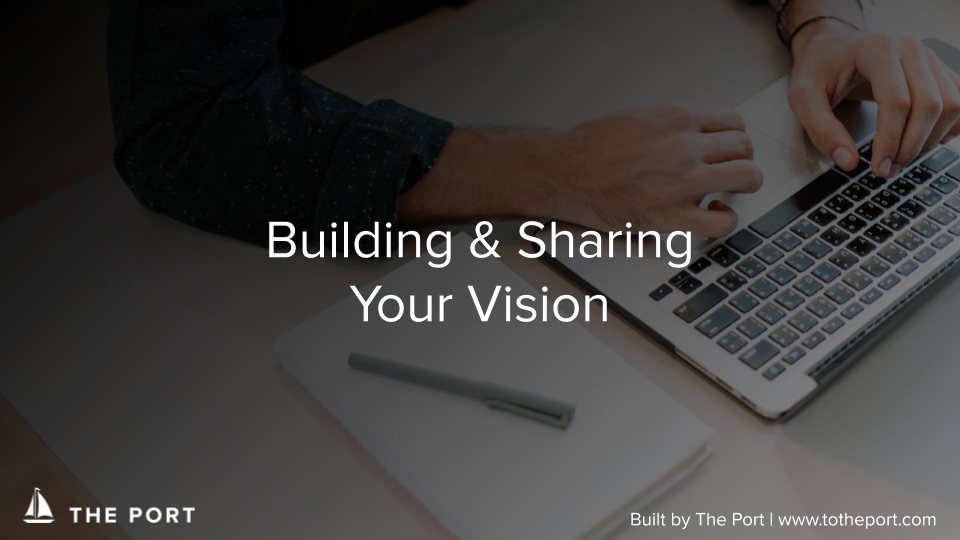 Company Vision Workbook - Establish a robust vision for a strong brand and overcome challenges.