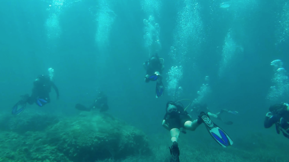 Discover Scuba Diving with Stone Soup residents