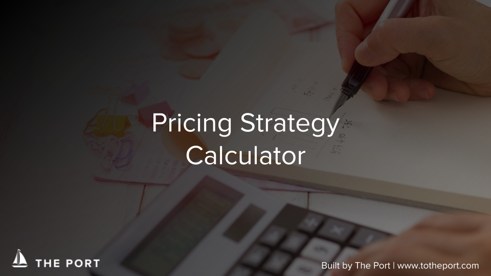 Pricing Strategy Calculator - Determine the pricing strategy for your product to maximize revenue.