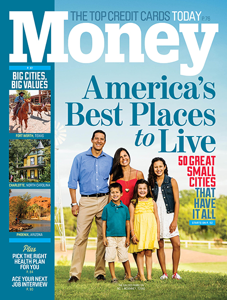 "MONEY MAGAZINE: AMERICA'S BEST PLACES TO LIVE - Money Magazine has ranked Fairfield as one of the best places to live in the U.S.: ""a thriving downtown, lively restaurant scene and five miles of beaches on the Long Island Sound coastline. The public schools are among the state's best and the town's two high schools are in the top 25 in the state…."""