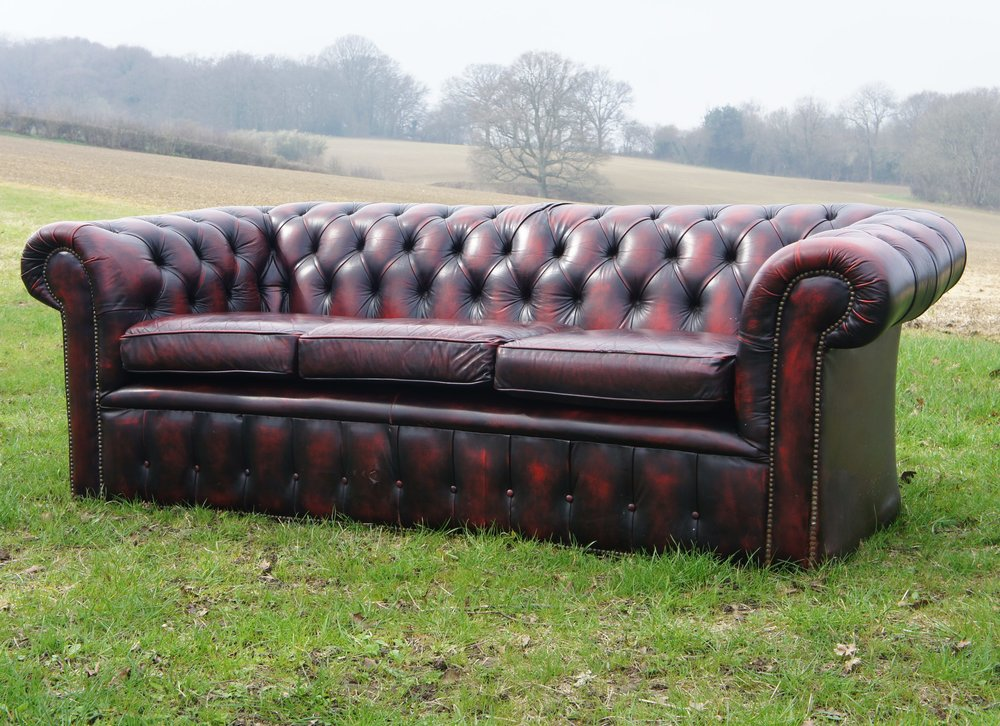 VINTAGE CHESTERFIELD SOFA SETS -