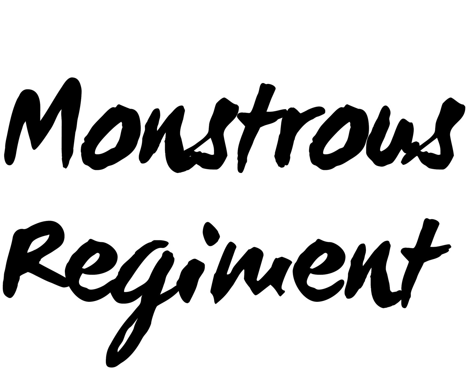 Monstrous Regiment Publishing