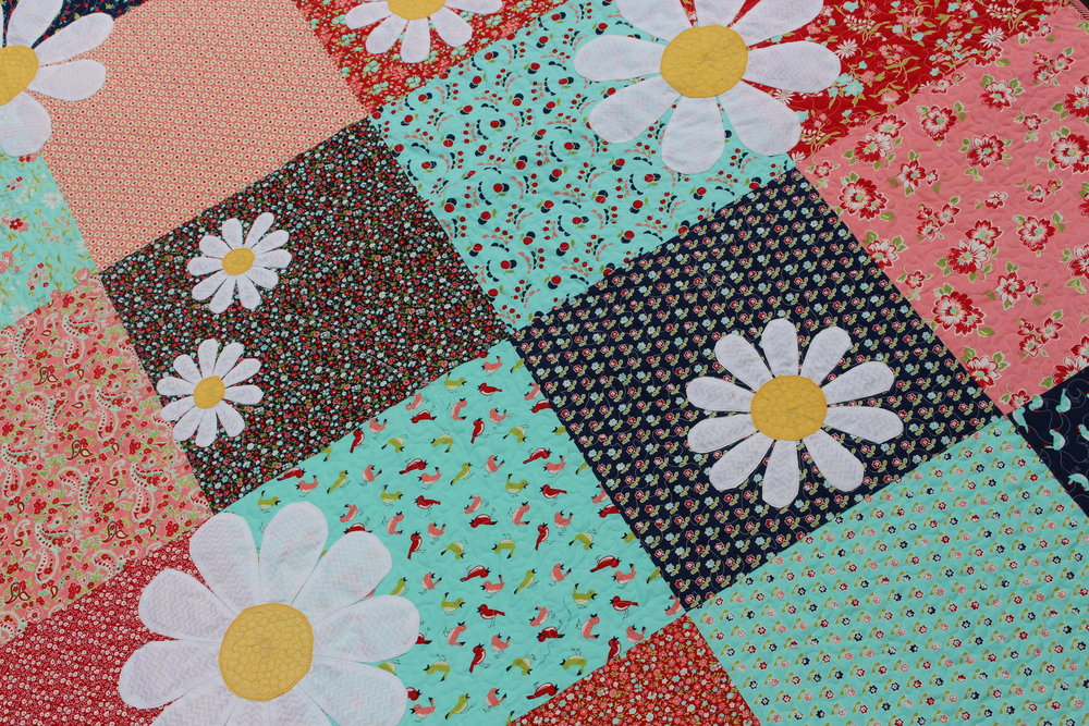 Daisy daisy .. and an applique workshop u2014 ruby seppings