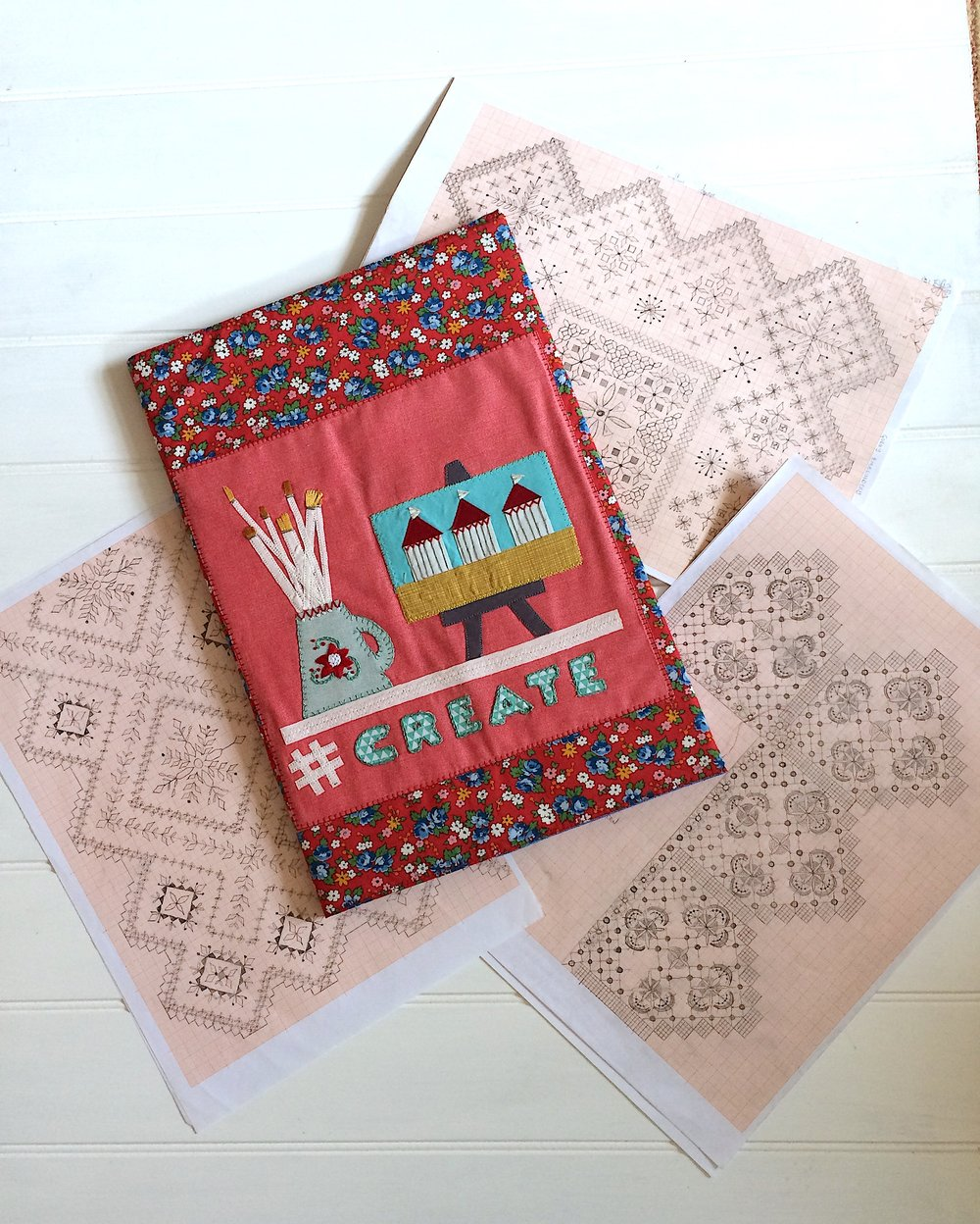 Make a sketchbook cover