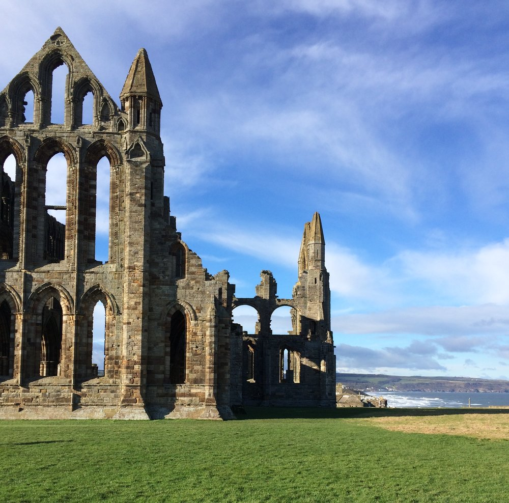 The Abbey ruins, Whitby