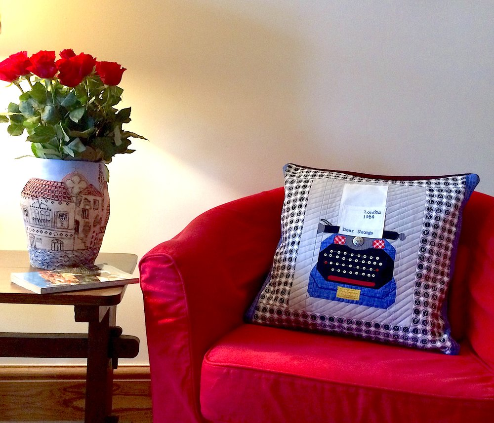 Blue typewriter cushion 2.jpg