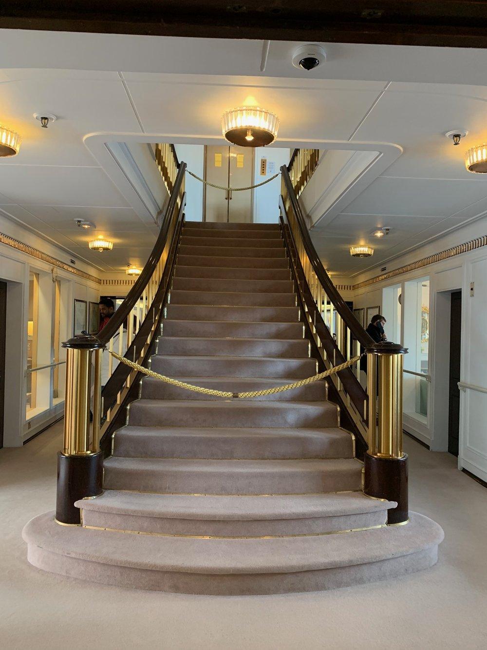 Main staircase, Britannia
