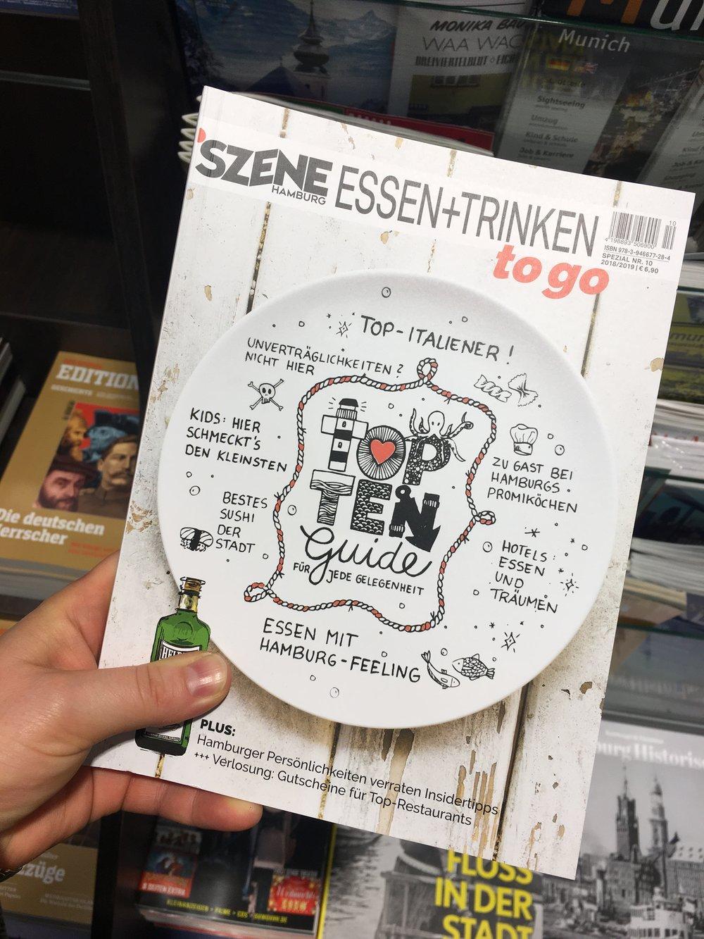 Szene Hamburg Essen & Trinken | Cover November 2018