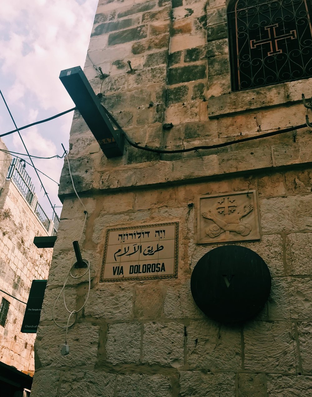 Via Dolorosa // believed to be the path that Jesus walked on the way to his crucifixion.