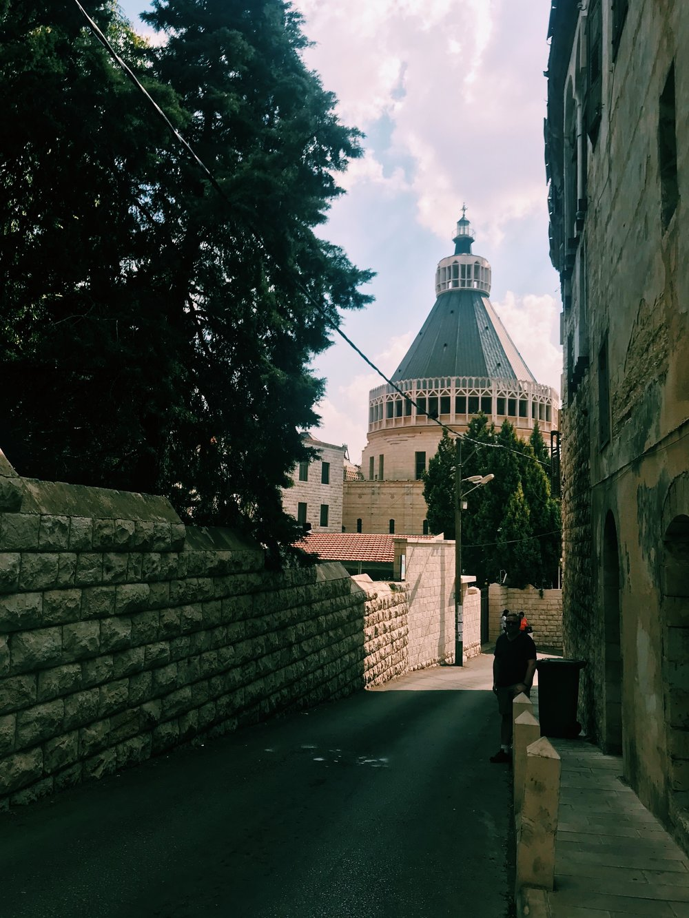 Basilica of the Annunciation  /// Nazareth's most prominent landmark marks the traditional location of Mary's house where she was visited by the angel Gabriel to receive the news of her divine pregnancy