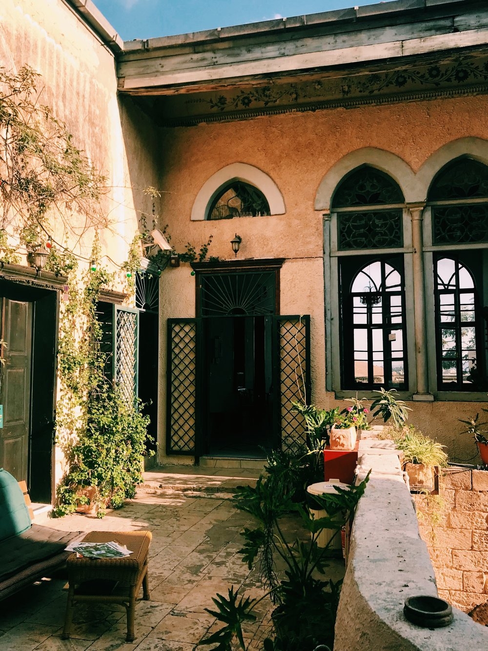Fauzi Azar Inn  /// a restored 200 year old Ottoman mansion of the Azar family, now a guesthouse