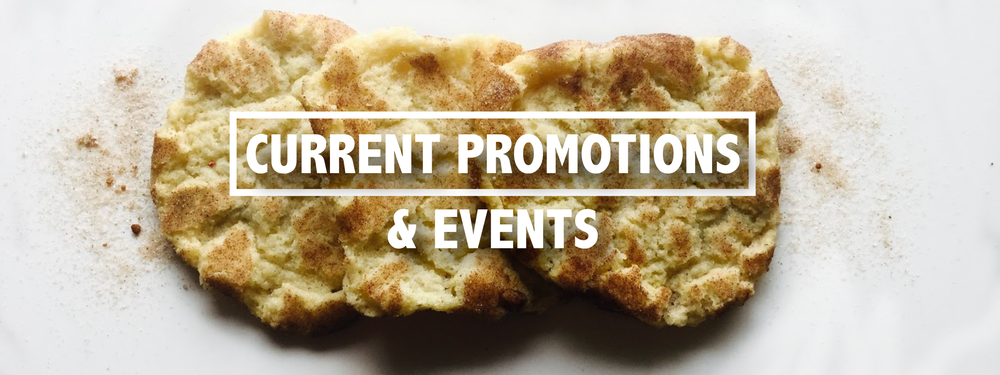 Current Promotions and Events