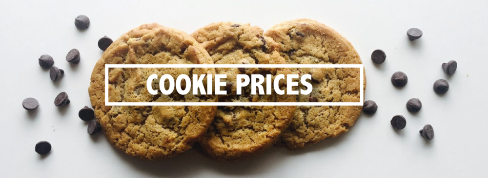 COOKIE PRICES