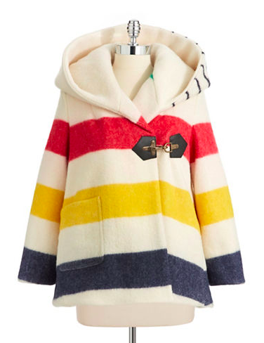 HUDSON'S BAY COMPANY X Smythe Blanket Swing Coat -