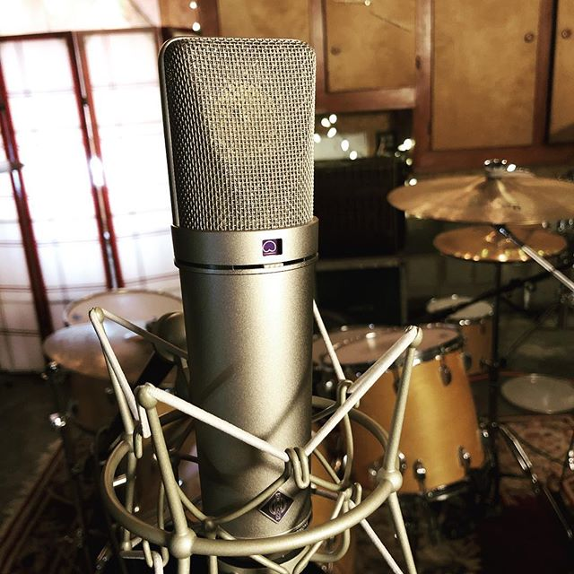 She's a beauty, thanks Chuck! @neumann.berlin @soundpurestudios