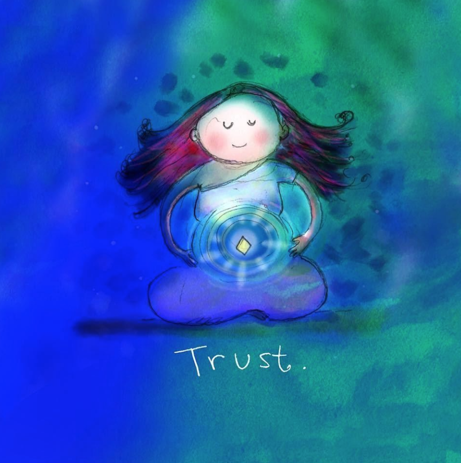 setting intentions to trust