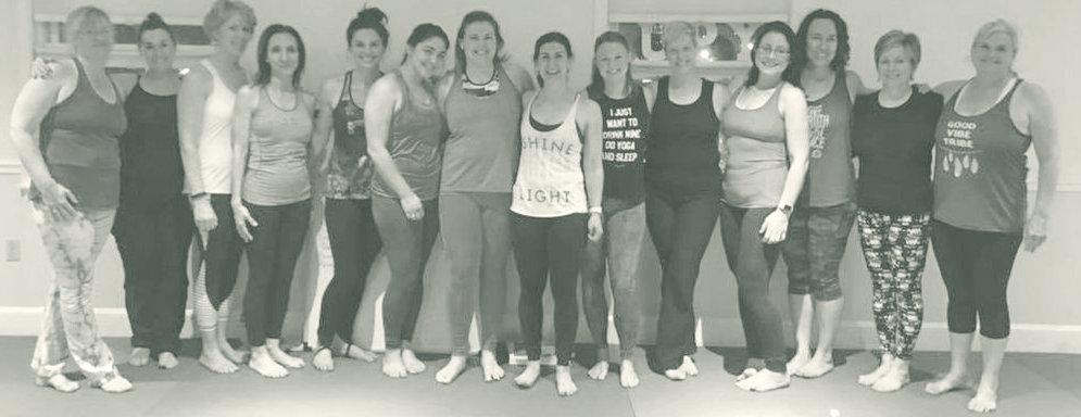 Lola Yoga teacher training group