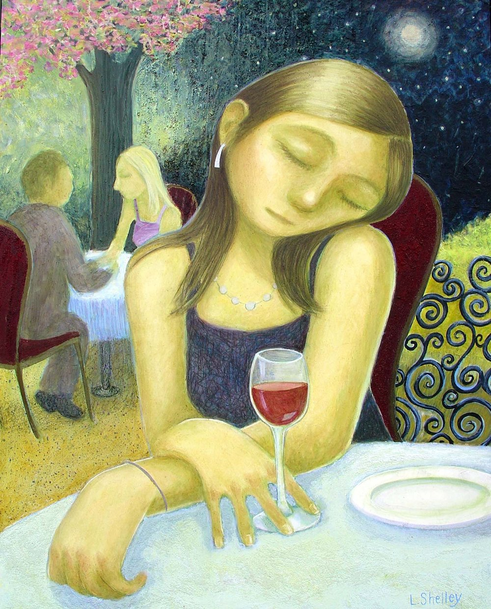 Red Wine - sold