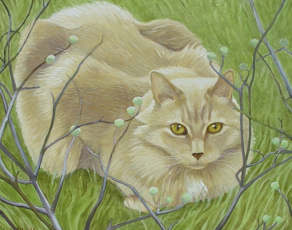 Cat - painting - Pumpkin Pie with photo 2.jpg