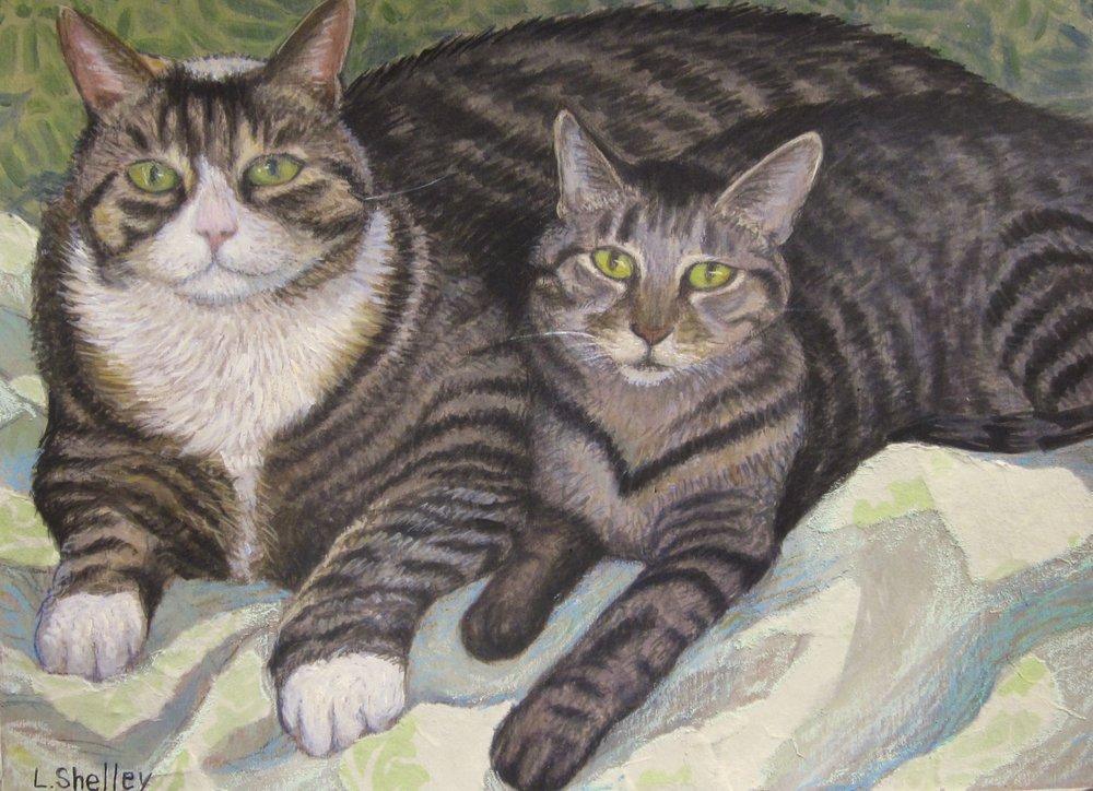 Luke and Neko