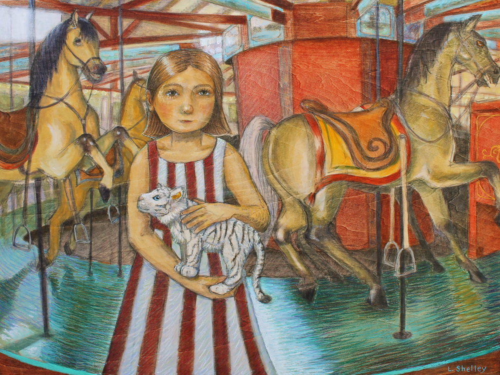 Carousel with Tiger - sold