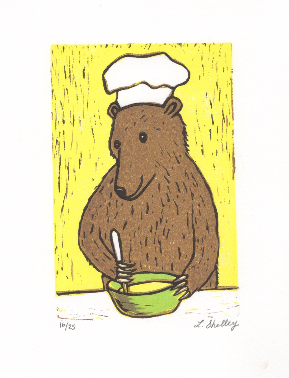 Bear Cooking